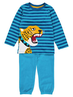 Turquoise Pajamas GEGOPYJLEO / 19WH12D4PYJ202