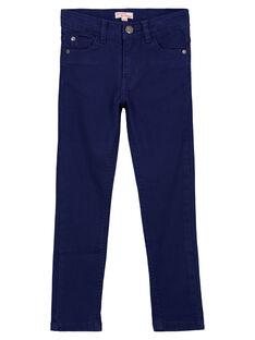 Navy Pants GOJOPATWI3 / 19W90241D2B070