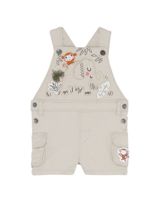 Light beige Short Overalls JUDUSAC / 20SG10O1SAC801