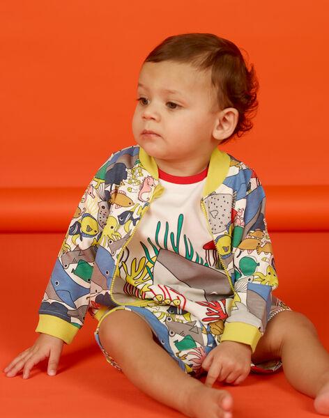 Vest ecru baby boy LUVIGIL / 21SG10U1GIL001