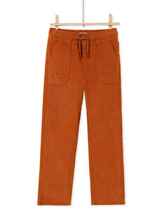 Light brown PANTS KOGOPAN1 / 20W902L2PANI806