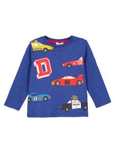 Navy T-shirt GOSANTEE3 / 19W902C5TML720