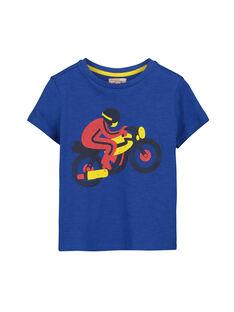 Boys' short-sleeved printed T-shirt FOJOTI3 / 19S90233D31703