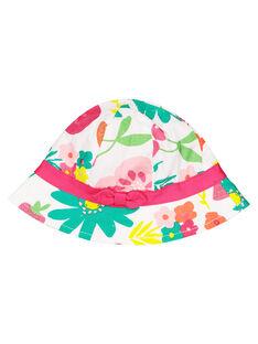 Baby girls' floral hat FYIYECHA2 / 19SI09M2CHA000