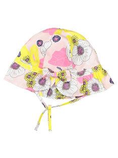Baby girls' printed hat FYIPOCHA / 19SI09C1CHA099