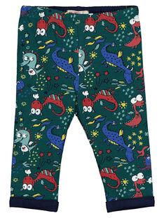 Baby boys' printed trousers GUVEPAN / 19WG1021PAN608