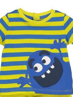 Baby boys' T-shirt and shorts set FUPLAENS1 / 19SG10P1ENS099