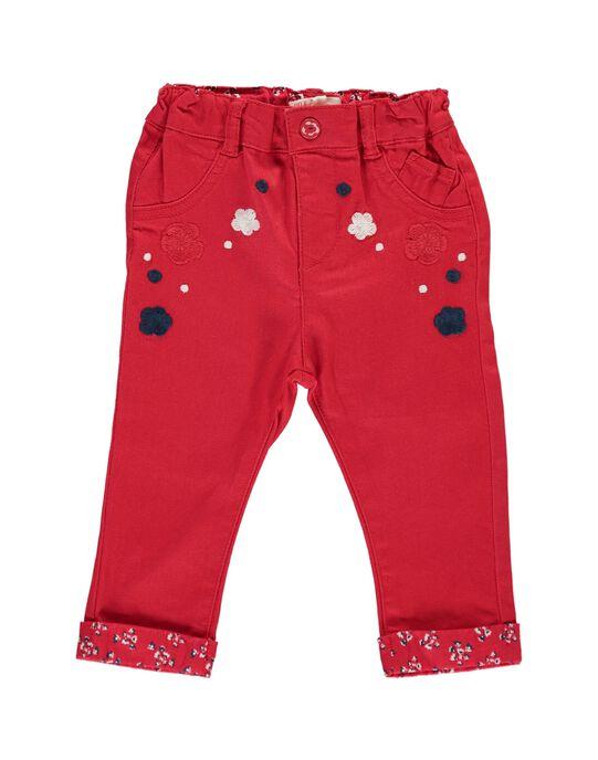 Red pants CIDEPAN / 18SG09F1PANF518