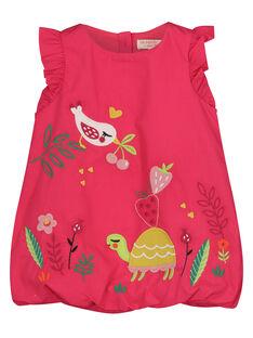 Fushia Dress FIYEROB3 / 19SG09M3ROB304