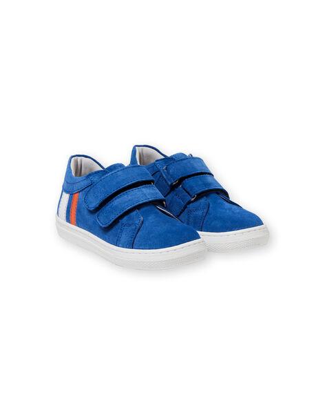 Baby boy blue sneakers LGBASBLEU / 21KK3632D3F701