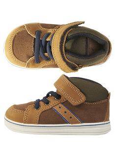 Light brown Sneakers GBGBASELA / 19WK38I3D3F804