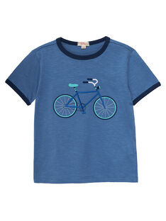 Blue T-shirt JOPOETI / 20S902G1TMCC237