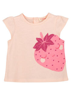 Baby girls' fancy T-shirt FIJOTI9 / 19SG09G4TMC301