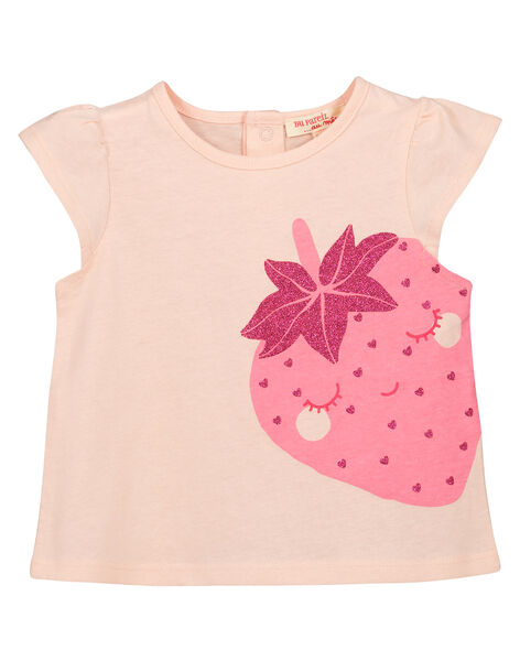 Baby girls' fancy T-shirt FIJOTI9 / 19SG09G4TMC301