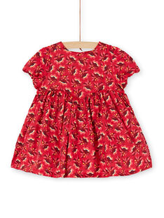 Red DRESS KINOROB1EX / 20WG09Q3ROBF529