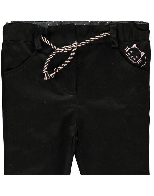 Black pants CIBENPAN1 / 18SG09G1PAN090