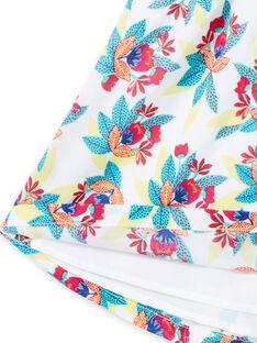 Girl's floral print sleeveless dress JAMAROB4 / 20S901P1ROB000