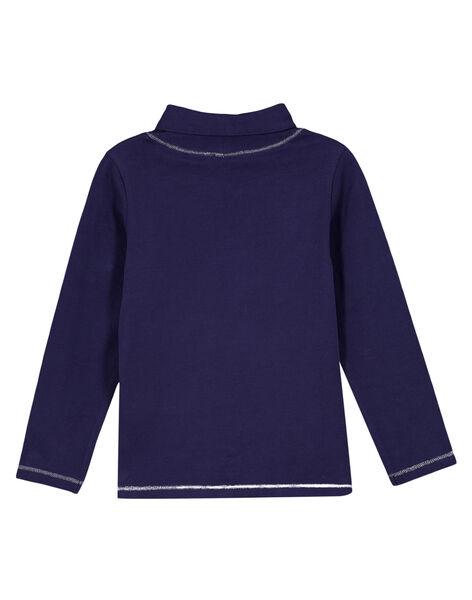 Navy under-sweater GAJOSOUP1 / 19W901L4D3B070