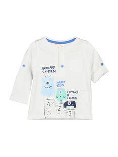 White T-shirt FUNETUN / 19SG10B3TML000