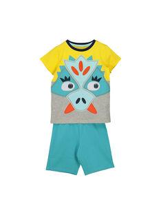 Boys' cotton short pyjamas FEGOPYCZOR / 19SH12H2PYJF519