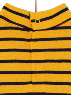 Yellow ROLL-NECK KUJOSOUP1 / 20WG1042SPLB106