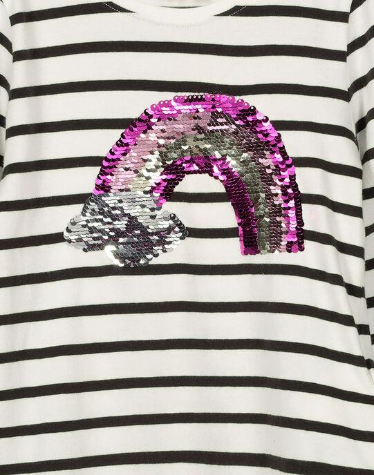 Girls' long-sleeved T-shirt FALITEE3 / 19S90123TML099