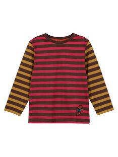 Brown T-shirt GOBRUTEE3 / 19W902K4TML816
