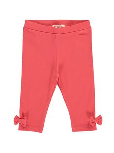 Baby girls' plain leggings CYIJOLEG9 / 18SI09S1CALF515