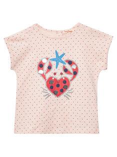 Rose T-shirt JACEATI3 / 20S901N3TMC309