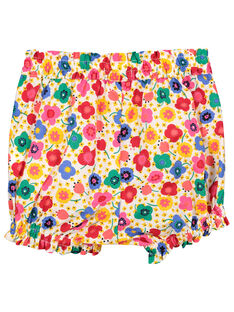 Baby girls' bloomer shorts FICOSHO / 19SG0981SHO000