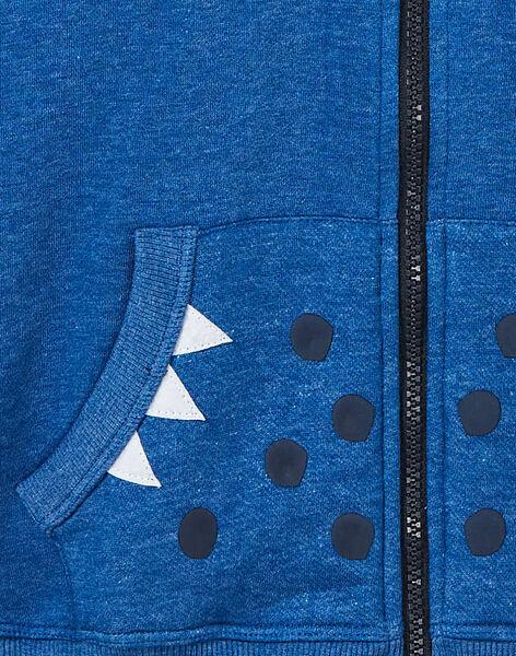 Heather blue WAISTCOAT KOREGIL / 20W902G1D58C223