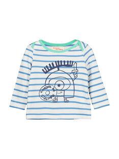 Baby boys' striped T-shirt FUNETEE2 / 19SG10B2TML099