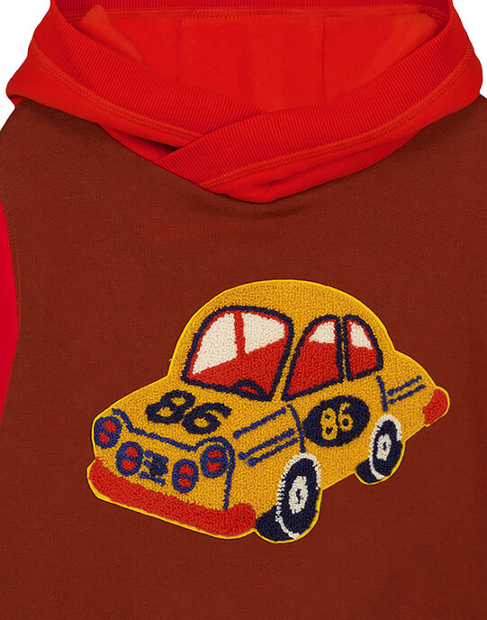 Brown Sweat Shirt GOSANSWE / 19W902C1SWE817
