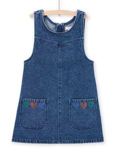 Girl's denim dress MAMIXROB1 / 21W901J2ROBP269