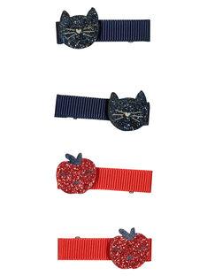 Set of girls' hair clips GYASANCLIC1 / 19WI0177BRT955