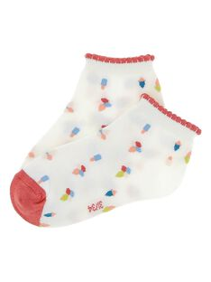 Girls' ankle socks CYABUCHO / 18SI01K1SOQ099