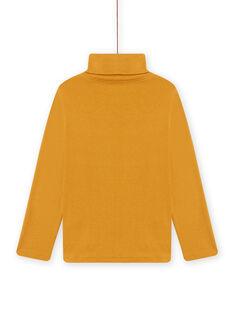 Yellow underpants with animal prints child boy MOSAUSOUP / 21W902P1SPLB107