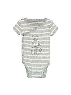 Unisex babies' short-sleeved bodysuit FOU1BOD6 / 19SF7716BOD099