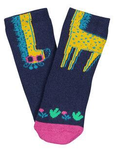 Navy Socks GYIMUCHO1 / 19WI09F1SOQ070