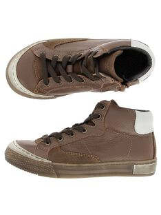 Light brown Sneakers DGBASLIAG1 / 18WK36T8D3F804