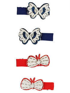 Set of girls' hair clips FYATOCLIC1 / 19SI01W4BRT099