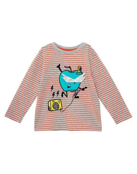 Heather grey T-shirt JOVITEE2 / 20S902D2TML943