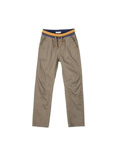 Boys' comfy trousers FOBAPAN2 / 19S90262PANJ910