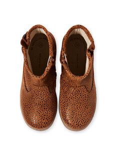 Light brown BOOTS KFBOOTMALO / 20XK3574D0D804