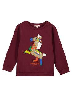Purple Sweat Shirt GOVIOSWE / 19W902R1SWM711