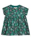 Baby girls' printed shirt dress GIVEROB1 / 19WG0921ROBG627