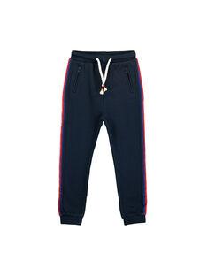 Boys' jogging bottoms FOCOPAN / 19S90281PAN705