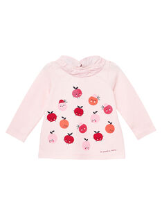 Pink Baby blouse JIVIBRA / 20SG09D1BRAD310