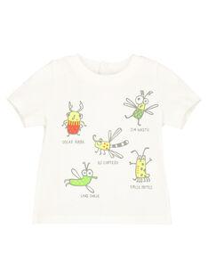 Baby boys' printed T-shirt FUYETI2 / 19SG10M2TMC001