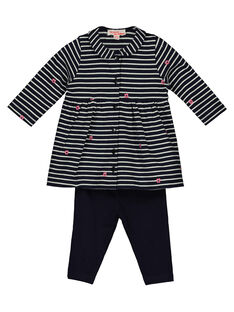 Baby girls' dress and leggings set GIBLENS / 19WG0991ENS070